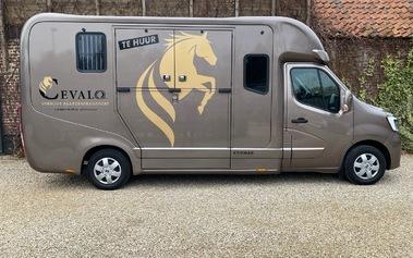 De nieuwe camionette